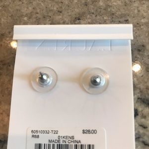Lauren Ralph Lauren Jewelry - Silver tone stud pierced Earrings